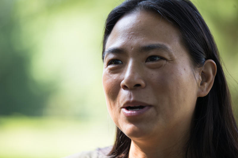 Irene Shum, Curator and Collections Manager at the Glass House in New Canaan, Connecticut.