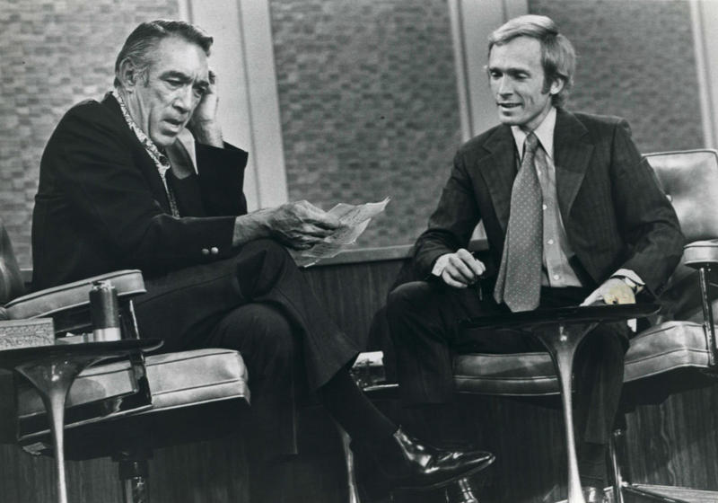 Dick Cavett Interviewing Anthony Quinn