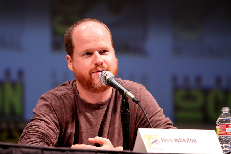Joss Whedon speaking at the 2010 San Diego Comic Con.