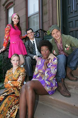 Ephie Aardema, Nick Bailey, Bryan Fenkart, Crystal Lucas-Perry, Alet Taylor in Goodspeed's 'A Sign of the Times'