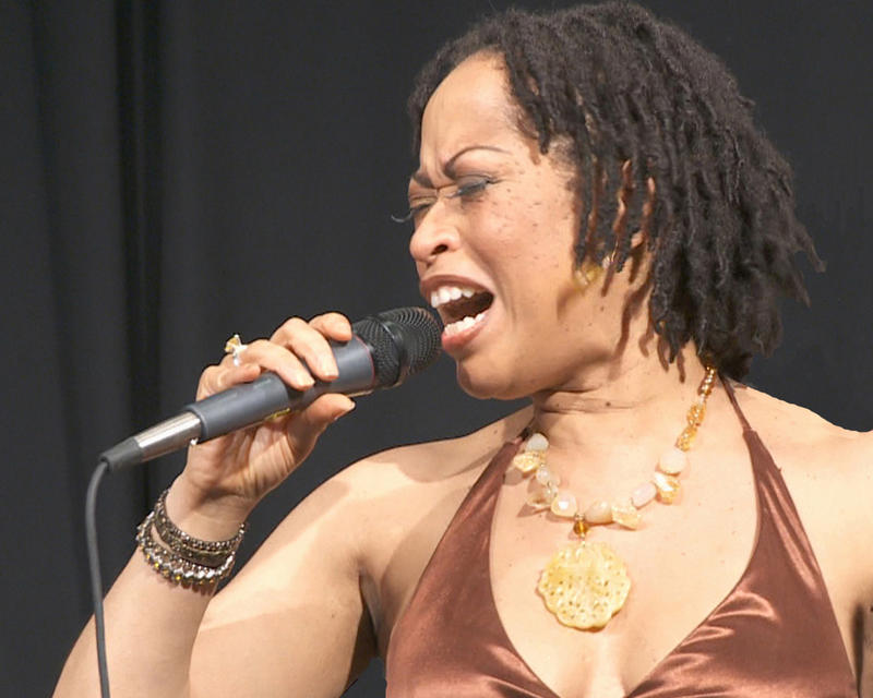 "Jazz and blues singer Samirah Evans, who will perform an adaptation of ""Porgy and Bess"" in Northampton, MA on August 27."