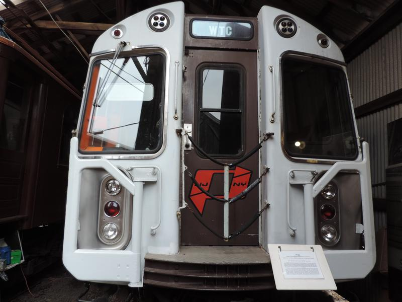 Car 745 at the Shoreline Trolley Museum