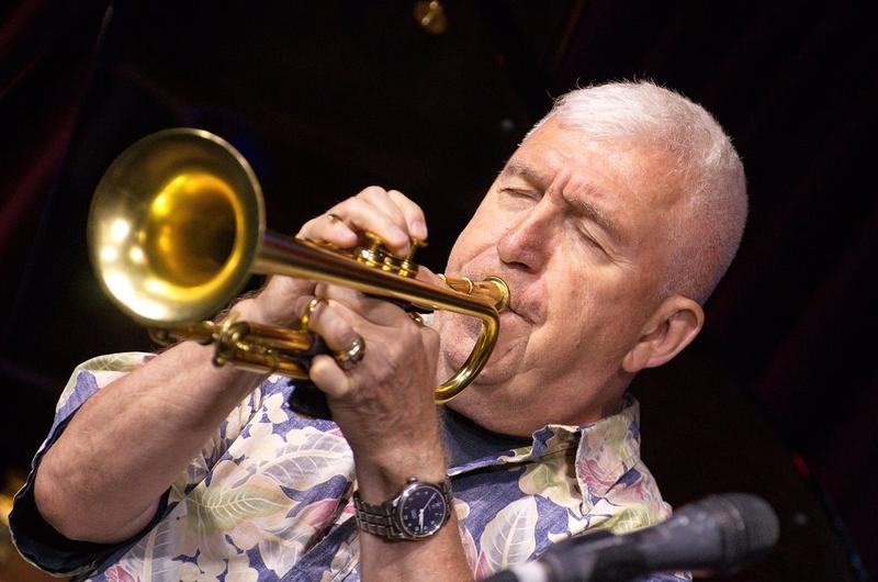 Russian-born jazz trumpeter Valery Ponomarev.