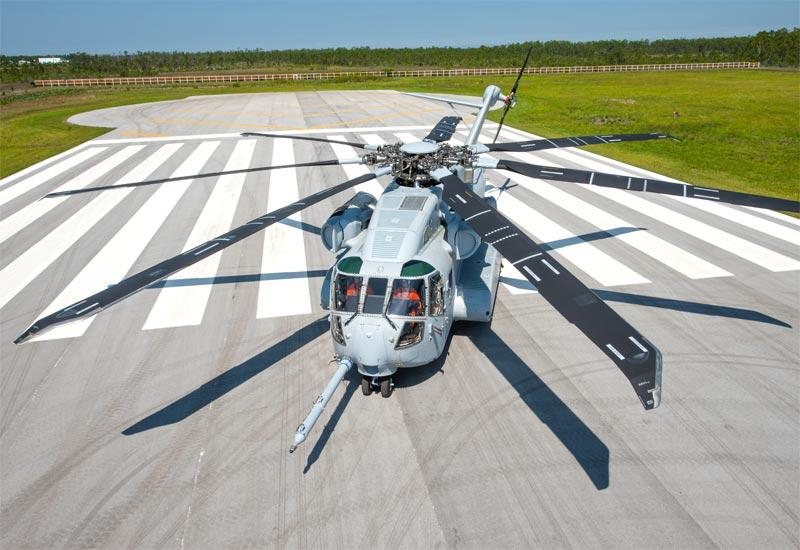 The CH-53K King Stallion helicopter will be built in Connecticut