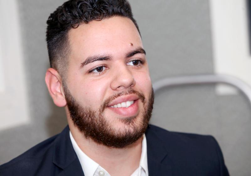Adrean Enrique Rodriguez - Recent Graduate from Central Connecticut State University, Staff Representative for labor union CSEA SEIU.