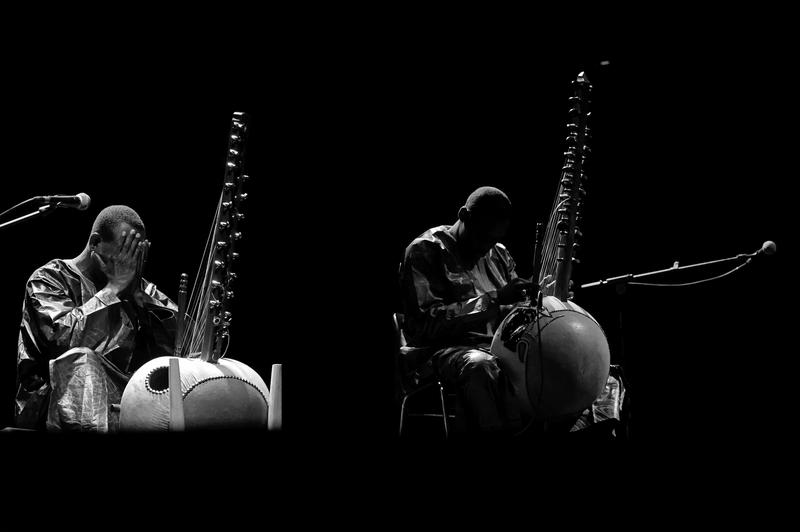 Mali Griot Toumani Diabaté and his son Sidiki are considered two of the best kora players in the world.