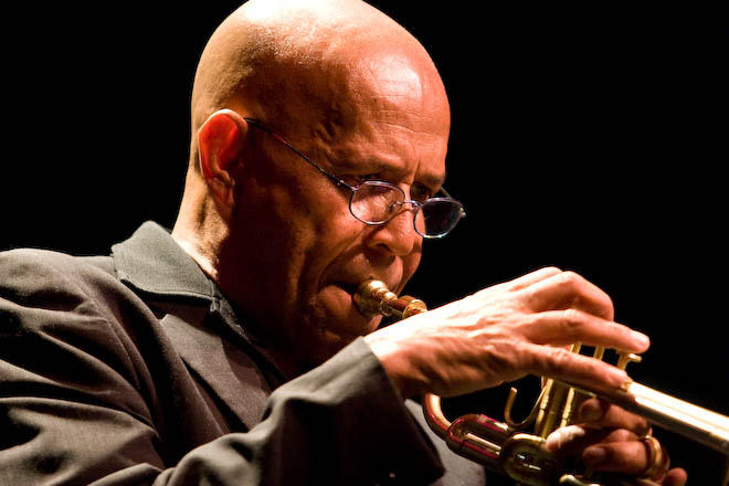 Eddie Henderson performs at Hartford's Polish National Home on November 4.