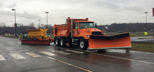 The 3 new plows can clear 2 highway lanes in a single pass