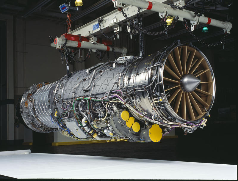 Yu Long worked on the F-135 military engine program