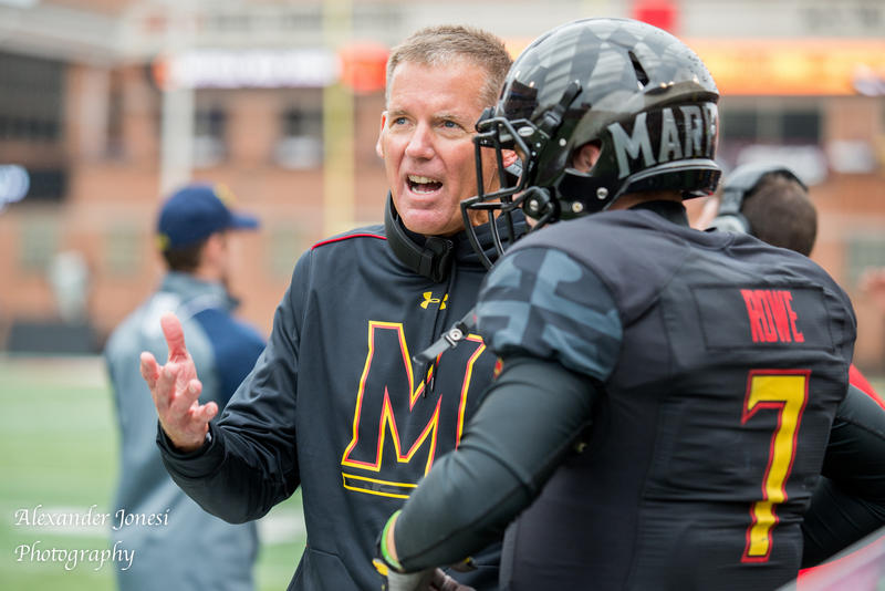 Randy Edsall left UConn in 2011 for the University of Maryland. He was fired in his fifth year, in October 2015.