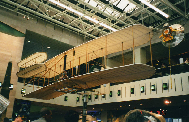 The Wright Flyer, National Smithsonian Air and Space Museum, Washington D.C.