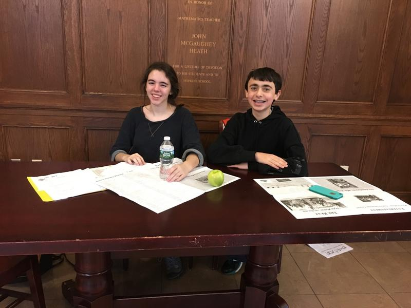 Sophie Sonnenfeld and Jack Kealey brought Meatless Mondays to their New Haven school.