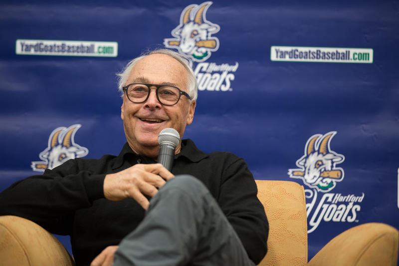 Jerry Weinstein was formally introduced as the Hartford Yard Goats new manager on Thursday.