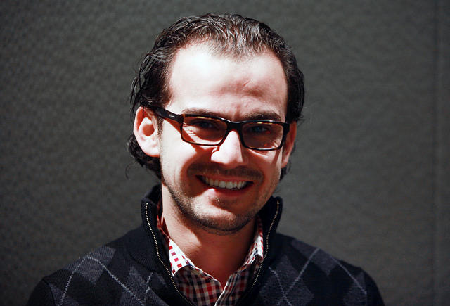 Mohamad Hafez - Syrian Artist, Architect and New Haven Resident.