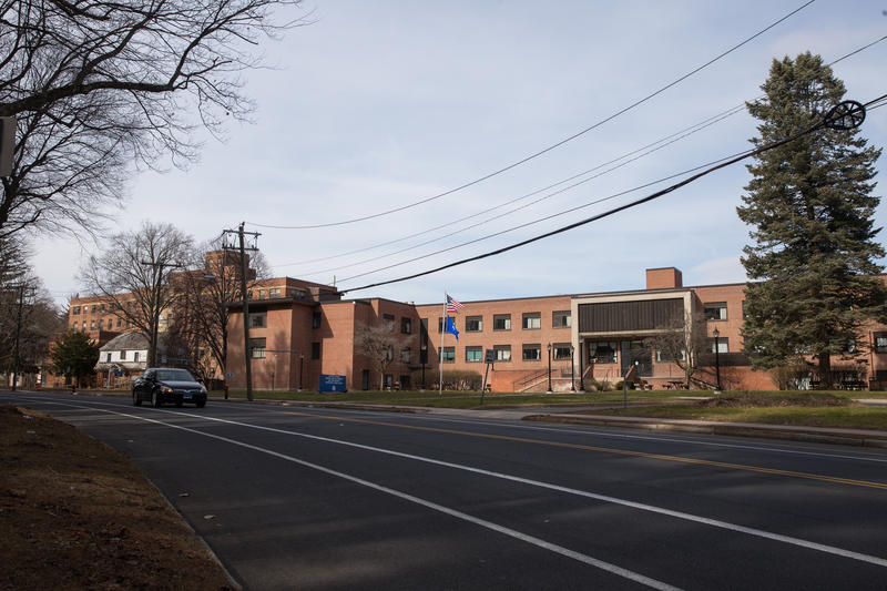 The Capitol Region Mental Health Center in Hartford, where the Blue Hills Hospital is located.
