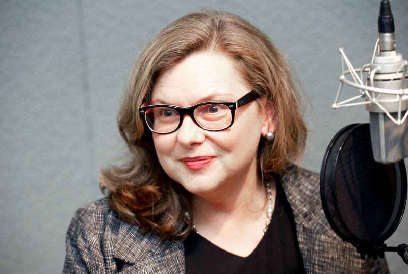"Education Commissioner Dianna Wentzell speaking on WNPR's ""Where We Live"" in this file photo."
