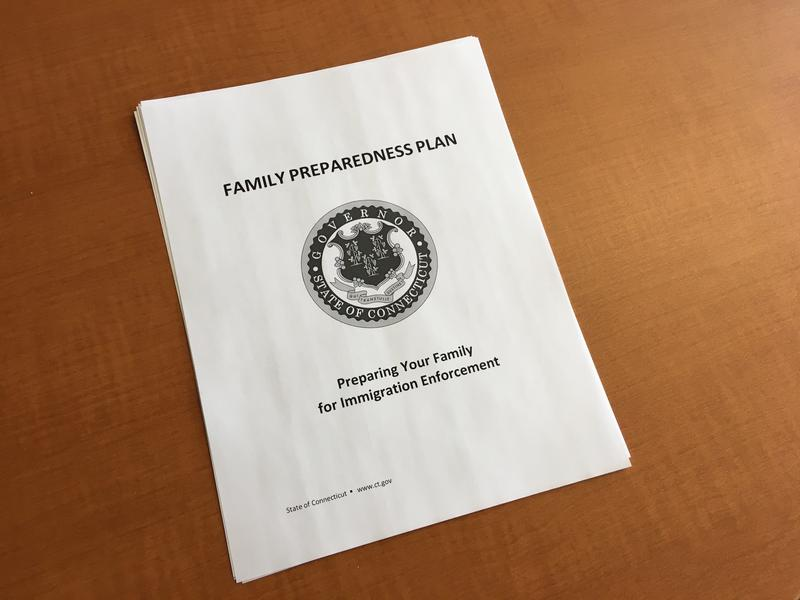 The Family Preparedness Plan can be downloaded from the Governor's website