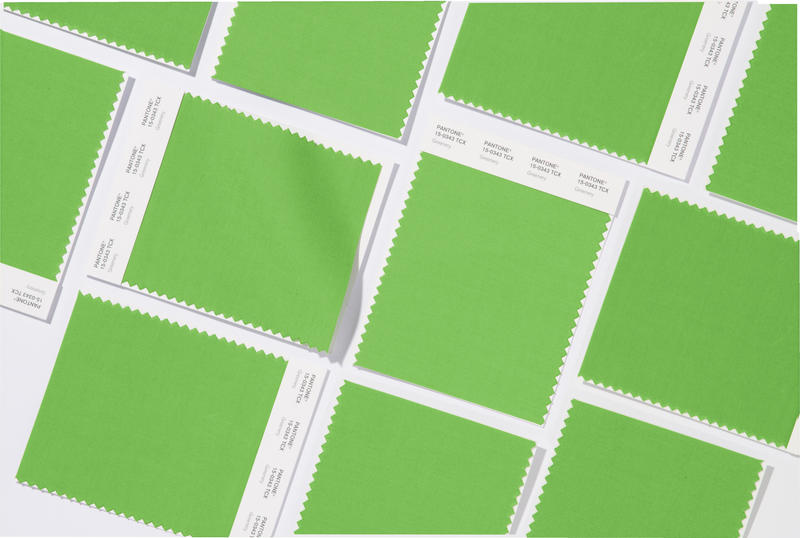 Greenery Fabric Swatches