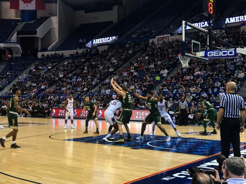 UConn and South Florida met for a third time this season Thursday night in Hartford.