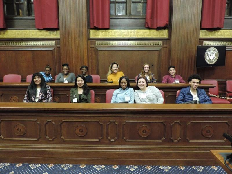 Project Youth Court at U.S. District Court in New Haven