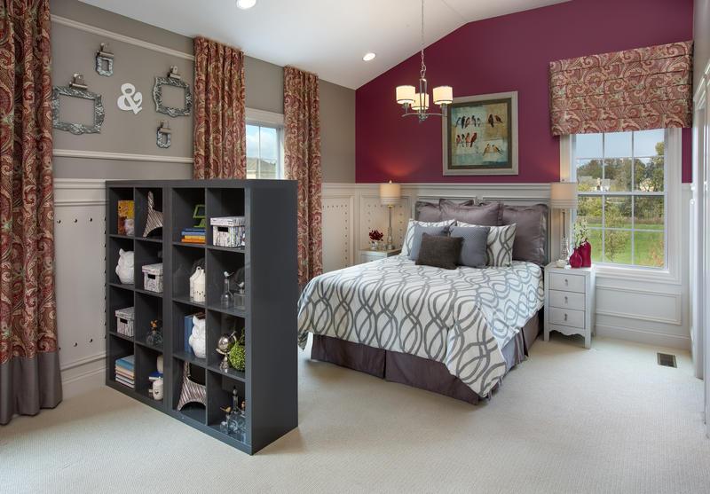 Bedroom in a multigenerational home.