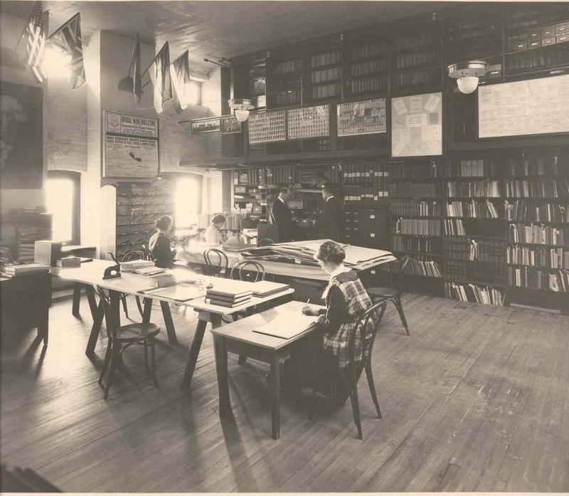 Connecticut War Records Department during World War I