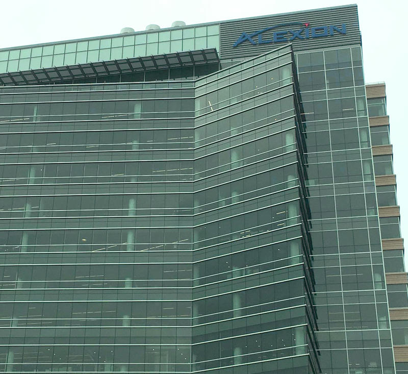 Alexion's New Haven headquarters.