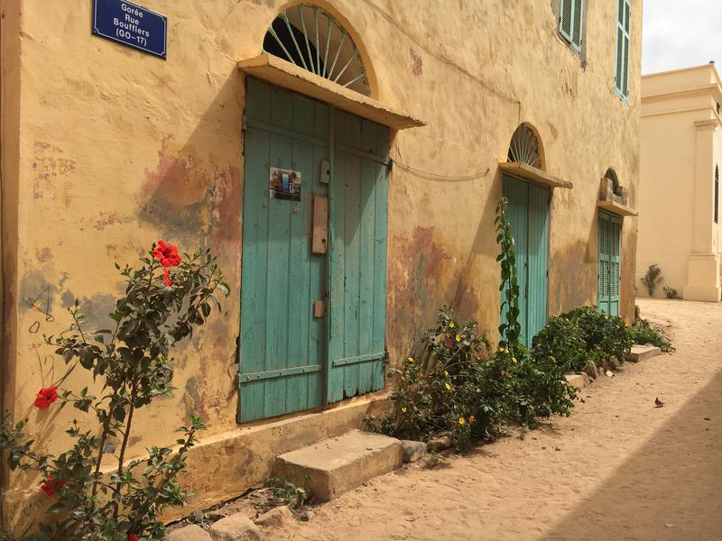 One of the colonial streets on Goree Island off the coast of Dakar. I traveled there because of the island's history including slave houses that symbolize the Trans-Atlantic Slave trade.