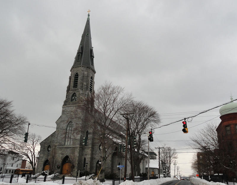 St. Augustine Cathedral in Bridgeport, Connecticut.