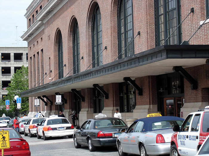 New Haven's Union Station.