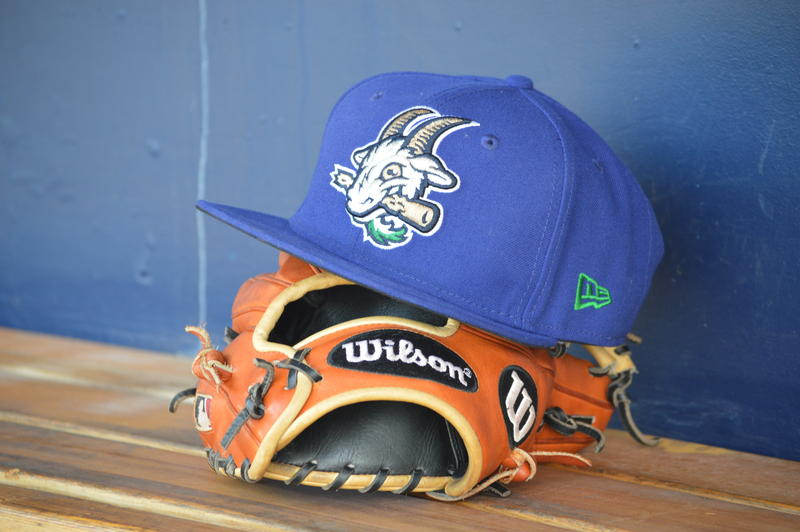 The Yard Goats' home cap.