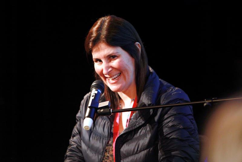 "Lara Stolman, Director/Producer of ""Swim Team""."