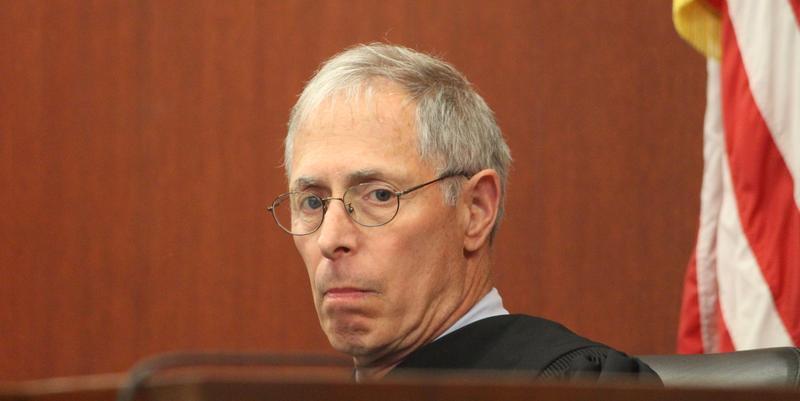 Judge Marshall Berger.