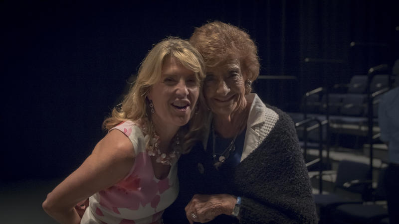 Cindi Bigelow  and her mother Eunice