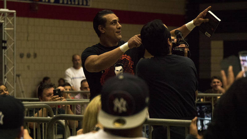 Alberto Del Rio is a four-time WWE World Champion. He left WWE last year.