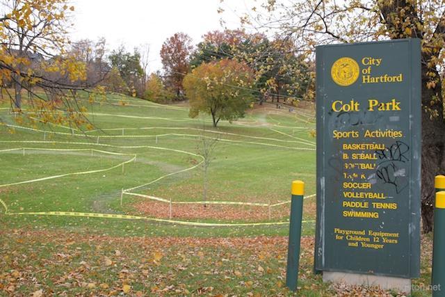 Colt Park in Hartford, Connecticut.