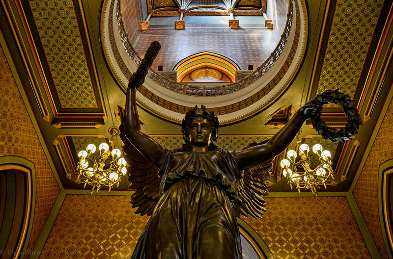 Inside the Connecticut State Capitol.