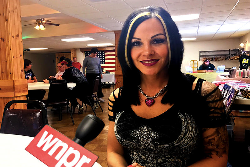 Jamie Szantyr spoke to WNPR in May while appearing at a charity event in Waterbury.