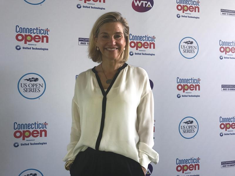 Anne Worcester has been the Connecticut Open tournament director since 1998.