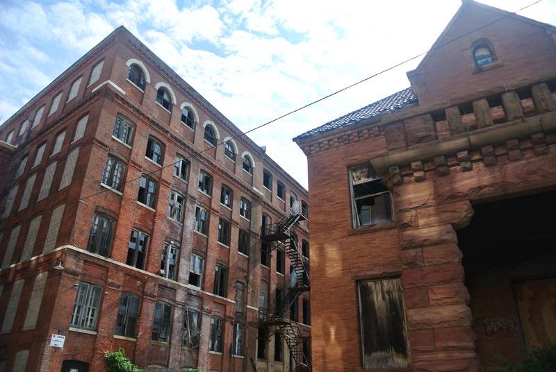 The old Waterbury Clock Factory