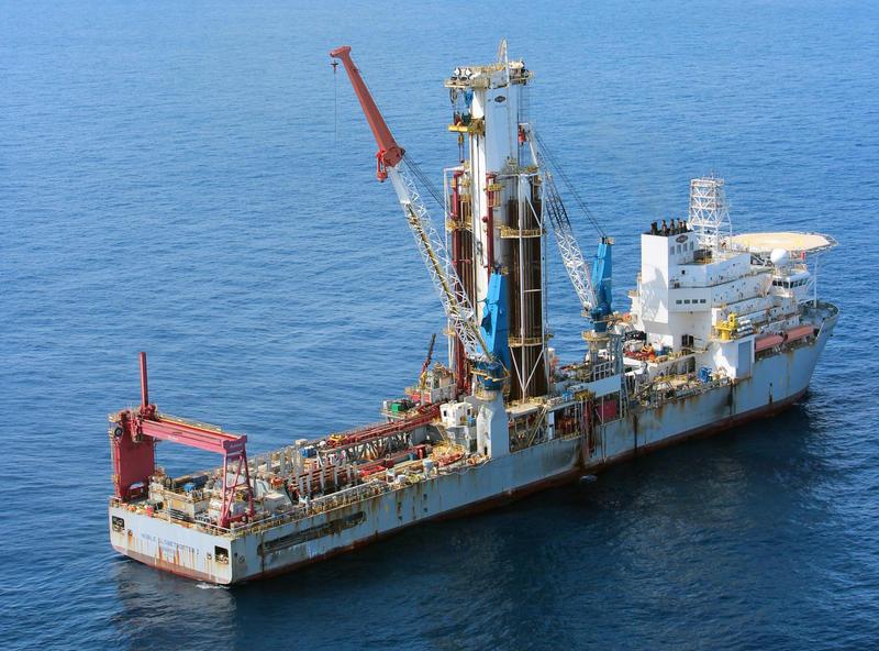 Noble Globetrotter I, Shell Offshore Inc.'s drillship.