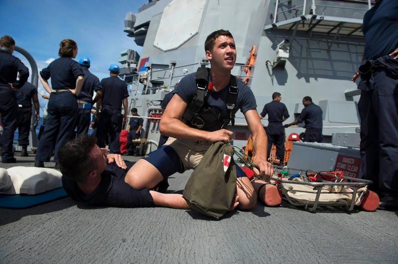 Electronics Technician 3rd Class Petty Officer Dustin Doyon is among the 10 sailors missing after the USS John S. McCain collided with an oil tanker Monday.