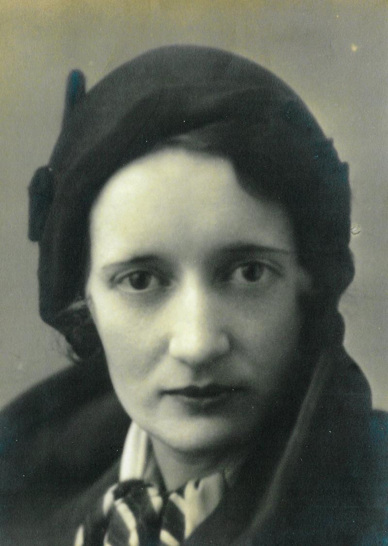 """""""Radium Girl"""" Mae Keane in the 1920s"""
