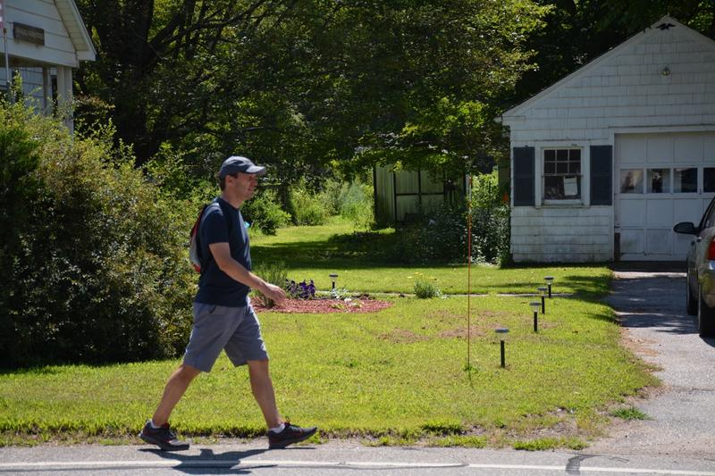 Sen. Chris Murphy has embarked on his second walk across Connecticut.