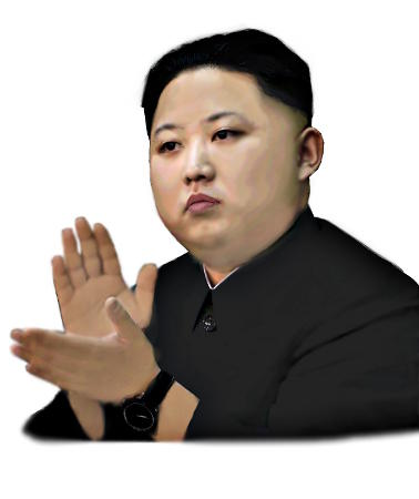 Kim Jong-Un, supreme leader of the Democratic People's Republic of Korea