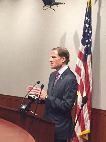 U.S. Senator Richard Blumenthal (D-CT) is calling on Congress to quickly replace DACA. The program is being phased out, placing close to a million young undocumented people at risk for deportation.