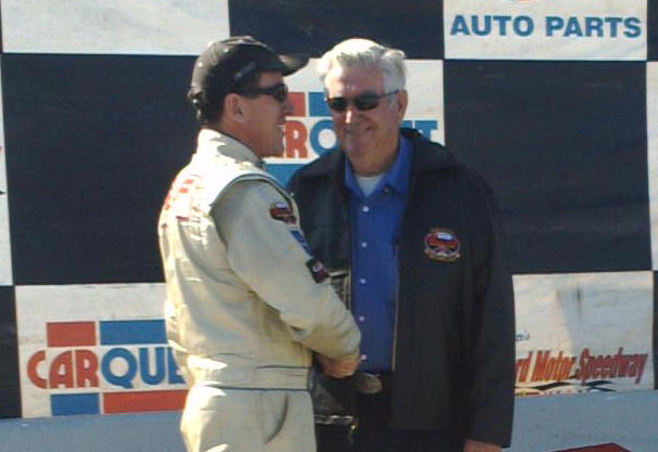Ted Christopher (left) was the winningest driver at Connecticut's Stafford Motor Speedway and Thompson Speedway.