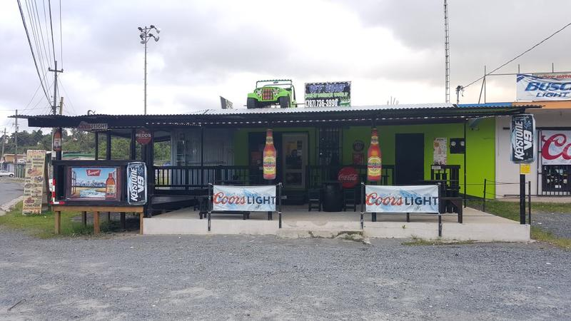 Off Road Bar and Burger World, owned by Maria Sanchez-Cruz, in Puerto Rico.