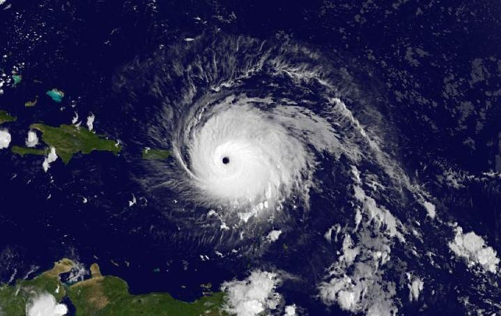 Hurricane Irma as of 5:00 am ET on September 6, 2017.