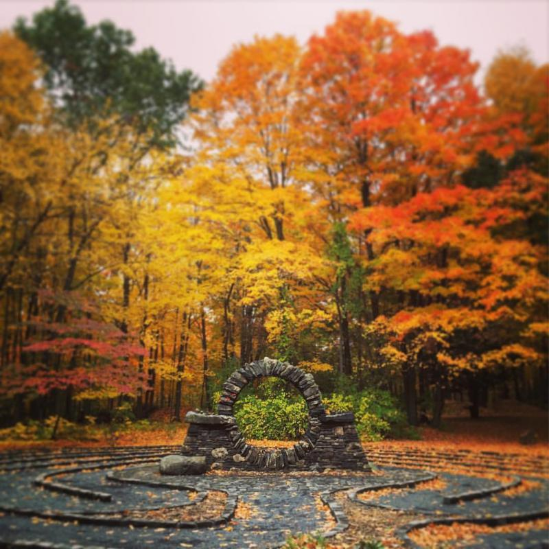 Labyrinth at Copper Beech Institute